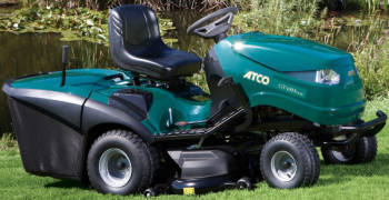 Atco GT48H Twin ride on mower