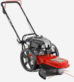 Cobra WT56B wheeled strimmer