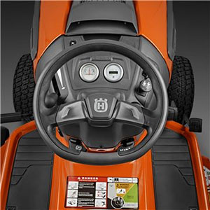 Husqvarna TC238TX steering wheel
